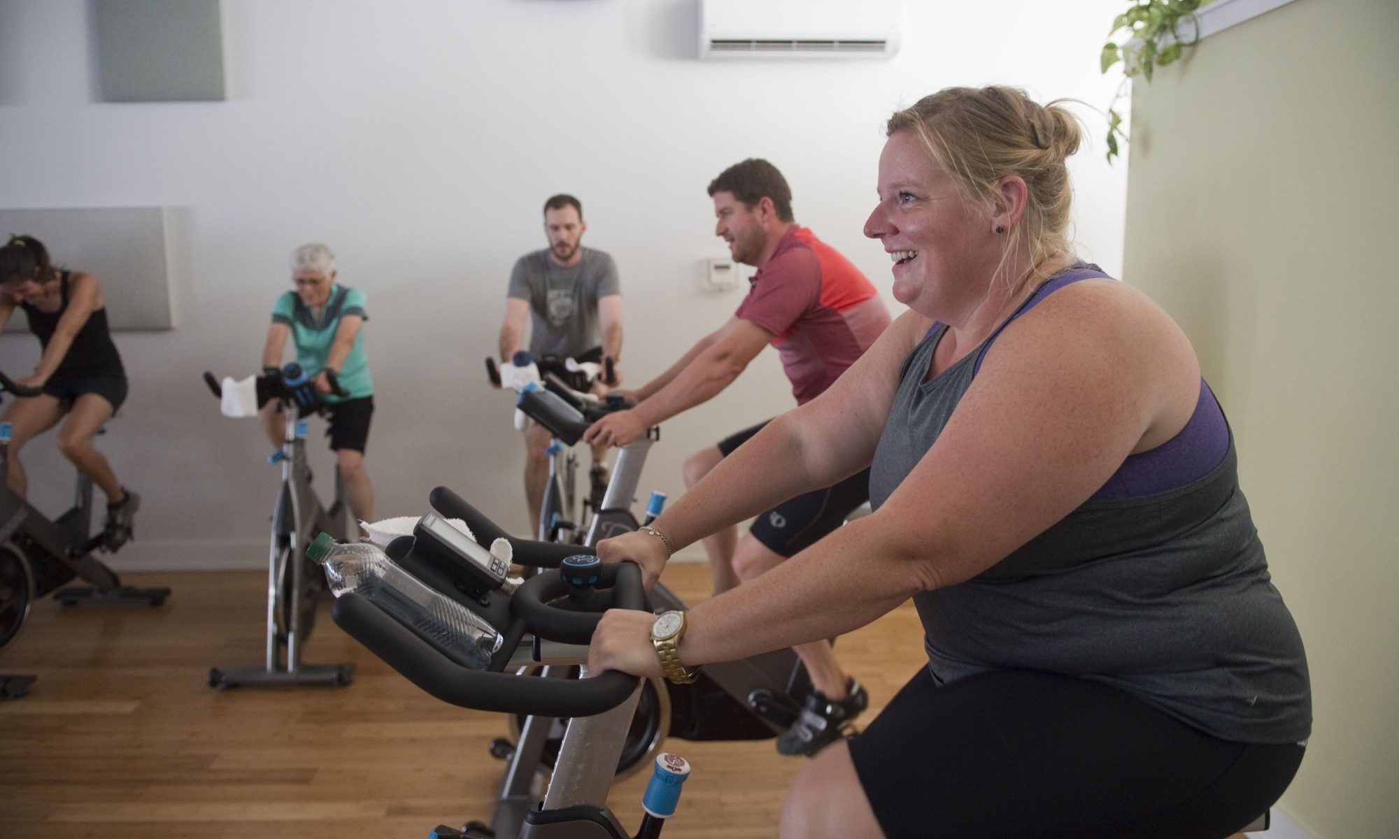 first time indoor cycling montpelier vt